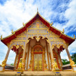 Temple with blue sky in Thailand. — ストック写真