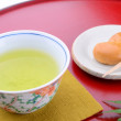 Japanese tea culture — Stock Photo
