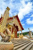 Temple with blue sky in Thailand. — Stock Photo