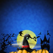 Halloween illustration — Stock Photo