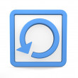 Reload icon — Stock Photo
