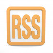 Rss icon — Stock fotografie
