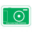 Stock Photo: You ctake photos, sticker resolving take photographs