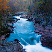 White River in the granite gorge, Republic of Adygea — Stock Photo