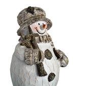 Weihnachten schneemann — Stockfoto