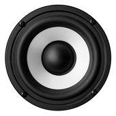 Speaker isolated on white background — Stock Photo