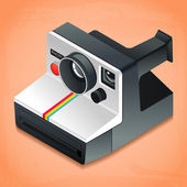 Isometric camera — Stock Vector