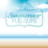 Texture - Summer — Stock Vector
