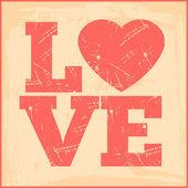 Amour rose — Vecteur