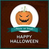 Vector Halloween card — Stock Vector