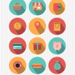 Set of shopping icons — Stock Vector #40510227