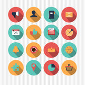 Set of universal icons — Stock Vector