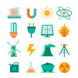 Set of energy icons — Stock Vector #43832857