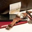 Accessories and successful businessman — Stock Photo