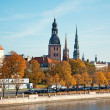 Autumn panoramof Riga — Stockfoto #33325849