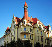 Architecture of Riga, Latvia — Foto de Stock