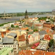 Stock Photo: Panoramof Riga, Latvia
