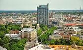 Panorama of Riga, Latvia — Stock Photo