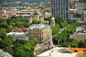 панорама риги, латвия — Стоковое фото