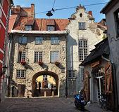Swedish gate in Riga — Stock Photo