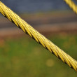 Stock Photo: Yellow rope