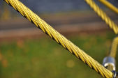 Yellow rope — Stockfoto