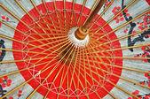 Rote japanische Dach innen — 图库照片