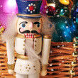 Christmas toy nutcracker — Stock Photo