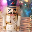 Christmas toy nutcracker — Stock Photo #35755783