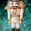Foto Stock: Christmas toy nutcracker