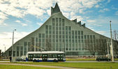 New National Library in Riga — Stock Photo
