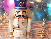 Christmas toy nutcracker — 图库照片