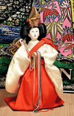 Figurine of the Japanese geisha — Stockfoto