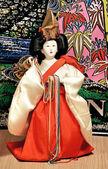 Figurine of the Japanese geisha — 图库照片