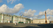 Hermitage Museum in St. Petersburg — Stock Photo