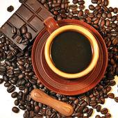 Coffee, chocolate — Stock Photo