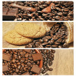 Stock Photo: Coffee collage