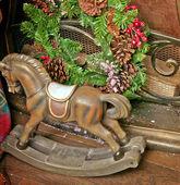 Toy rocking horse — Stock Photo