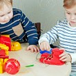 Stockfoto: Children play educational games