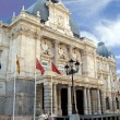 Stock Photo: City hall building of Cartagena. Palacio Consistorial