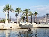 Port in Cartagena, Spain — Stock Photo