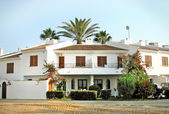 Mar Menor. White House at a resort in Spain — Stock Photo
