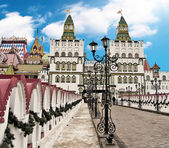 Moscow, old traditional architecture — Stock Photo