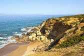 Beach on the Atlantic coast near Cadiz, Spain — Stock Photo