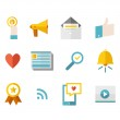 Modern flat icons vector collection — Stock Vector #51411779