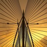 Seri Saujana Bridge in Putrajaya, Malaysia — Stock Photo #32362701