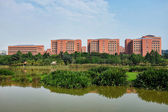 Panaromic view of office complex at Parcel D, Putrajaya — Stock Photo