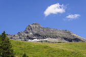 Cuneaz (Aosta valley) Mount Testa Grigia in summer — Foto de Stock