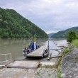 Stock Photo: Austria, Ferry boat on Danube