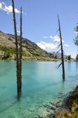 Italy (Ayas Valley) Lago Blu — Photo